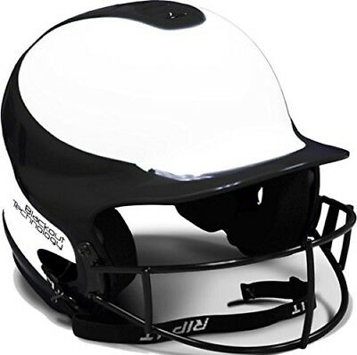(S/M, Navy) - RIP-IT Vision Pro Softball Helmet ft. Blackout Technology, Maroon