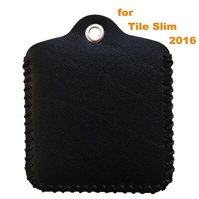 (Tile Slim, Black) - Tile Slim Case, Birgus Ultra Slim Genuine Leather [Full