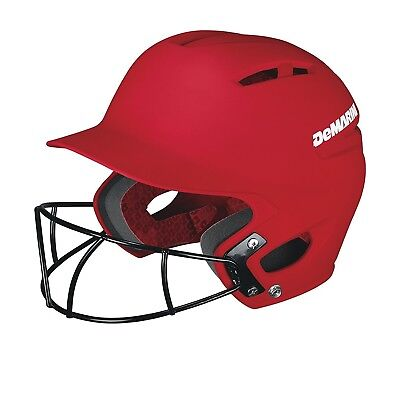 (Youth (6 7/8 and below), Scarlet) - DeMarini Paradox Youth Batting Helmet