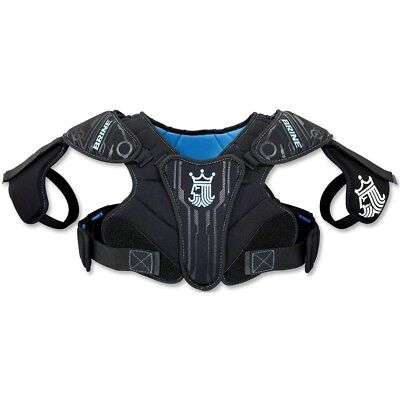 (Large, Black) - Brine Youth Uprising II Lacrosse Shoulder Pad. Shipping is Free