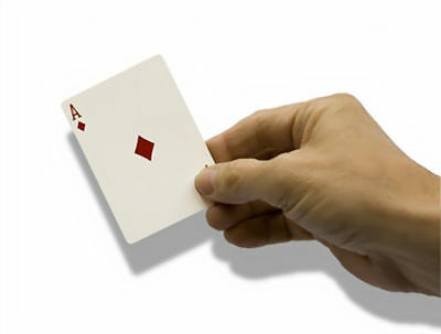 Magic Tricks DELUXE CARD CATCHER Catch Cards Appear From Mid-Air Manipulation!