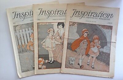1920's Inspiration Magazine Woman's Institute Vintage Fashion Millinery Lot