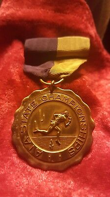 Collectable 1950 ATHLETIC MEDAL  ARIZONA STATE CHAMPIONSHIPS