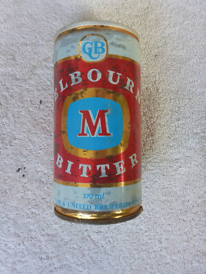 Collectable Australian Beer Can. Carlton & United - Melbourne Bitter 370 Ml