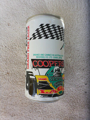 Collectable Beer Can. Australian Coopers - Osaka Japan F1 Grand Prix Lager #2