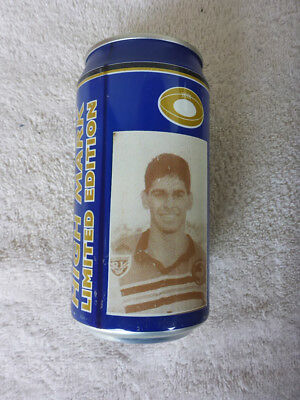 Vintage Collectable Beer Can. Eagle Blue Beer - High Mark Rugby Player #3