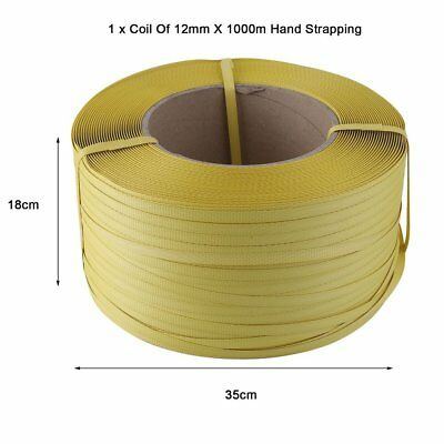 Cheapest 1500M 12mm  Heavy Duty Pallet Strapping Banding Coil Reel 12mm RB
