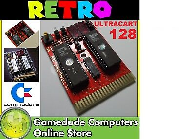C64 ULTRACART 128 Cartridge Revision 3 (128 ROM titles installed) [03]