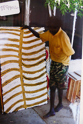 TIMMY PAYUNGKA (TJAPANGATI) Acrylic on Linen, 148cm x 87cm, stretched