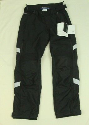 BMW Motorrad Trailguard Pants Trouser 40R US 34x32 50 EUR Motorcycle Armor Black
