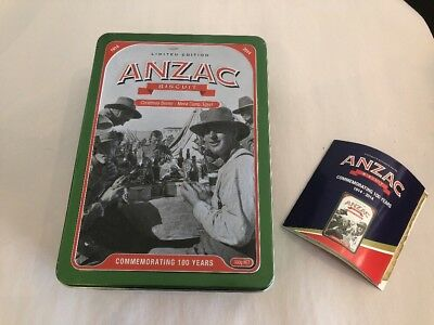 """ANZAC Biscuit Tin - 2014 Commemorating 100 Years """"Christmas Dinner """""""