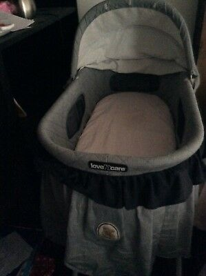 Love N Care country bear bassinet GUC - pick up only