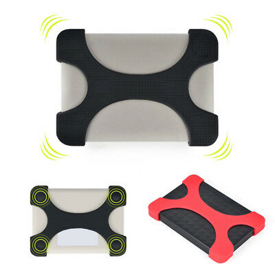 External Portable Hard Disk Drive Bag Carry Cover Shockproof Silicon Rubber Case