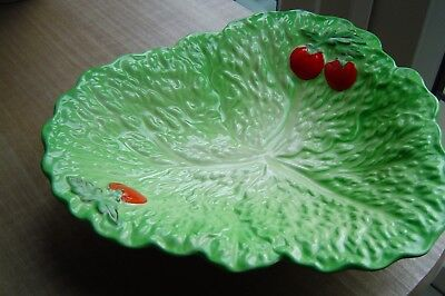 beswick lettuce leaf and tomato salad dish excellent