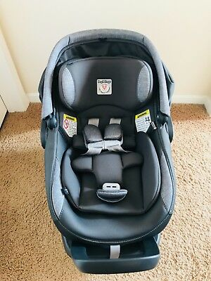 Almost Perfect Black-Grey, Great Quality Peg-Perego Infant car seat.