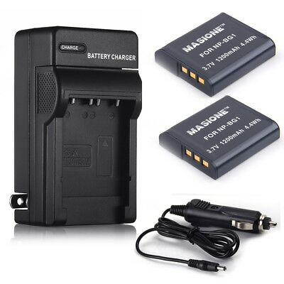 NP-BG1 Type G Battery/ Charger for SONY Cybershot FG1 DSC-H20 H9 H3 T100 W80 W90