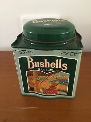 Vintage Collectable - Bushells Blue Label Tea Tin Green
