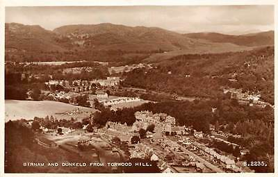 """Birnam and Dunkeld from Torwood Hill General view """"Valentine's Postcard"""""""