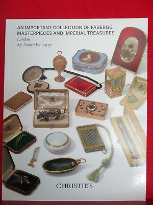 Christie's Catalogue: Russian Art - Faberge, Tillander and Imperial treasures
