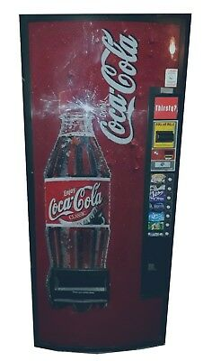 Coca-Cola Vending Machine *as Is* Coke Cold Drink *see Details* Used Classic