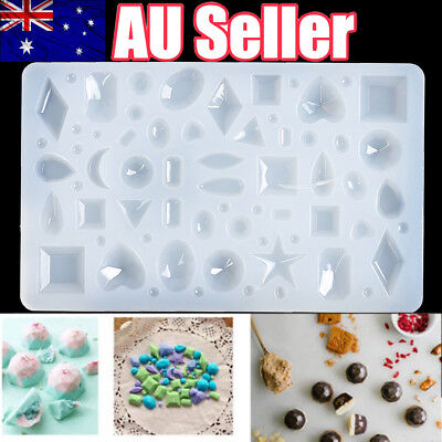 DIY Silicone Cabochon Mold Making Necklace Jewelry Pendant Resin Casting Mould