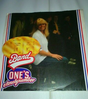 """One's A Lonely Number - GB Band - Single 7"""" Vinyl 1981Top"""