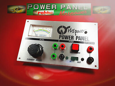 Power Panel 12V - Anschluß, Nr. 212 v. robbe / Günther Modellsport