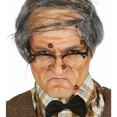 Stick On Brown Warts Witch Old Woman Man Fancy Dress Halloween