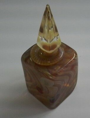Richard Clements  Art Glass Perfume Bottle