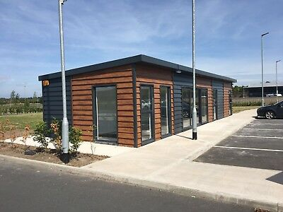 Mobile Office Block With Toilets 50ft X 14ft