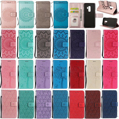 For Samsung Galaxy Note 9/S8+/S7 Flip Card Wallet Leather Stand Phone Case Cover