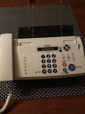 FAX MACHINE BROTHER Model 878 Plain Paper