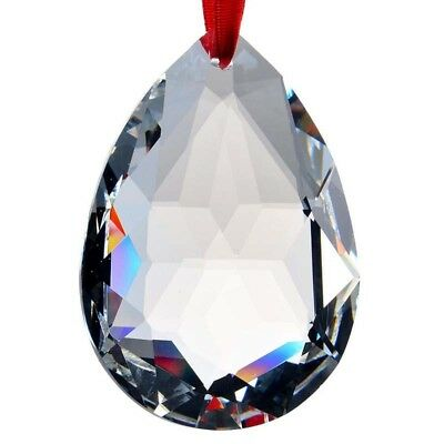 2in Clear Crystal Chandelier Rainbow Prisms Hanging Drops Lamp Part Pendant OUT