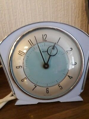 Vintage Retro 1960s Metamec Mantle Clock Made In Great Britain