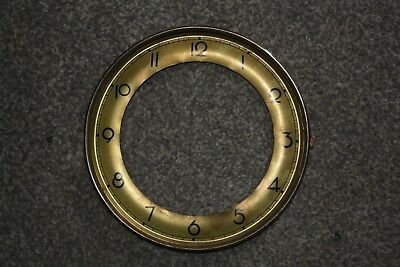 Vintage Clock Chapter Ring/Dial/Face, 157mm Arabic Numerals spares/repairs/parts