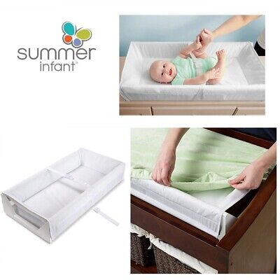 Summer Infant Safe Surround Diaper Changing baby Mat Cover Soft Pad waterproof