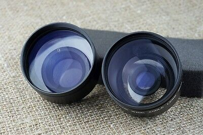 Anscor AUX 46mm filter thread TELE WIDE Camera Lens FOR Sigma 19mm 30mm 60mm