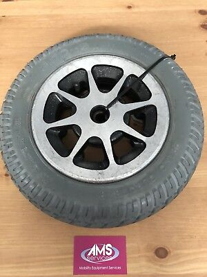 Pride Jazzy 1121 Power Chair / Wheelchair Main Drive Wheel & Solid Tyre - Parts