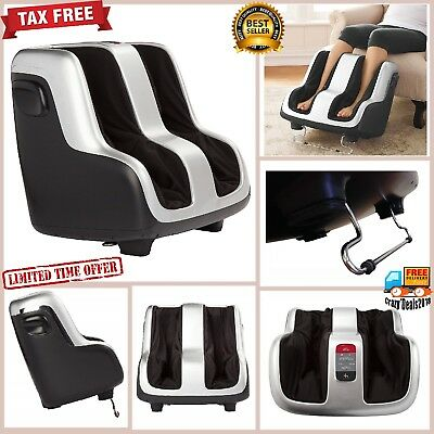 Shiatsu feet Foot Massager Therapy Deep Kneading Built Heat Air Massage Reflex-4
