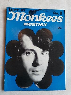 THE MONKEES ORIGINAL MONTHLY No 8 SEPTEMBER 1967