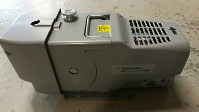 Agilent IDP-3 dry scroll vacuum pump with hourly meter, 230V / 50Hz, pn IDP3A01