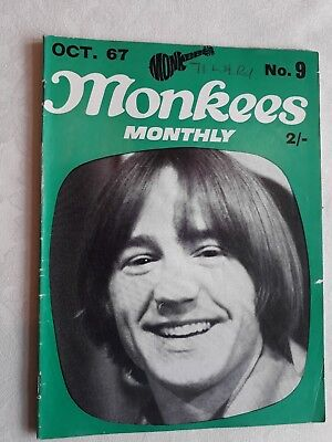 THE MONKEES MONTHLY MAGAZINE NUMBER 9 October 1967