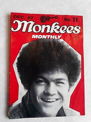 THE MONKEES ORIGINAL MONTHLY No 11 DECEMBER 1967