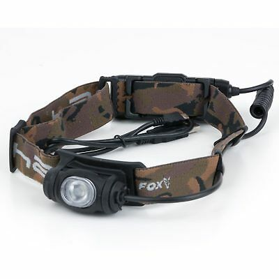 Fox Kopflampe Strinlampe - Halo AL350c Headtorch 500 Lumen mit Akku