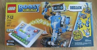 New-LEGO BOOST Creative Toolbox  (17101) 5 in 1 Model- Sealed