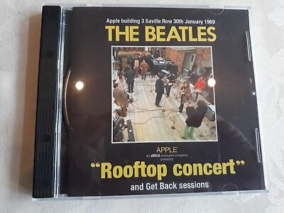 The Beatles 1969 Rooftop Concert & Get Back Sessions Apple Cd + Extras Mint