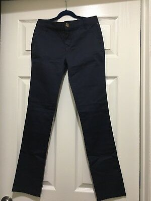 NWT old navy girls size 12 pants color is navy