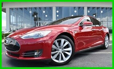 Tesla Model S 85 ~~ Sedan 70  ~~ Clean 1-Owner Carfax ~~ 2015 85 Used Automatic RWD