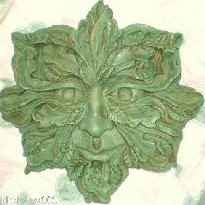 Large Green Man Latex Mould To Make Treeface, Ent King, LOTR, Fantasy Plaque