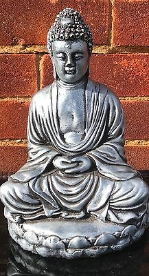 Latex Mould to Make Thai Buddha Lotus Meditation Style Statue Garden Ornament